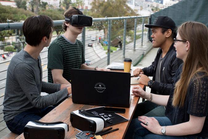 KIlograph VR Cabin - Kilograph - Creative Visualization